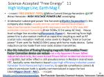 science accepted free energy 11 high voltage line earth mag f