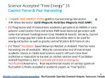 science accepted free energy 15 casimir force pwr harvesting