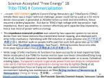 science accepted free energy 18 tribo teng ii commercialization
