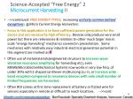 science accepted free energy 2 microcurrent harvesting ii