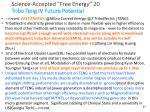 science accepted free energy 20 tribo teng iv future potential