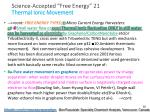 science accepted free energy 21 thermal ionic movement