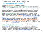 science accepted free energy 26 air voltage gradient kinetic
