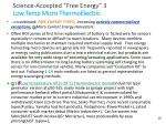 science accepted free energy 3 low temp micro thermoelectric