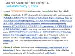 science accepted free energy 31 coal water slurry ii china