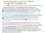 science accepted lowest cost tech14 h r viii thermo magnetic etc