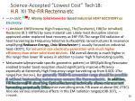 science accepted lowest cost tech18 h r xii thz fir rectenna etc