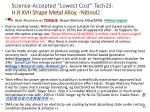 science accepted lowest cost tech23 h r xvii shape metal alloy nitinol 2