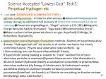 science accepted lowest cost tech5 perpetual hydrogen etc