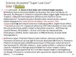 science accepted super low cost solar 3 exciton