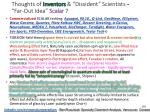 thoughts of inventors dissident scientists far out idea scalar 7