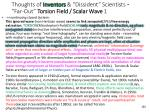 thoughts of inventors dissident scientists far out torsion field scalar wave 1