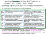 thoughts of inventors dissident scientists far out torsion field scalar wave 2