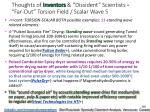 thoughts of inventors dissident scientists far out torsion field scalar wave 5