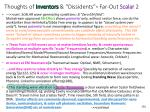 thoughts of inventors dissidents far out scalar 2
