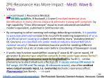 zpe resonance has more impact med 3 wave virus