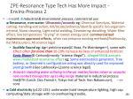 zpe resonance type tech has more impact enviro process 2
