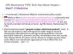 zpe resonance type tech has more impact med 7 e medicine