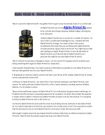 alpha primal xl great muscle building increased