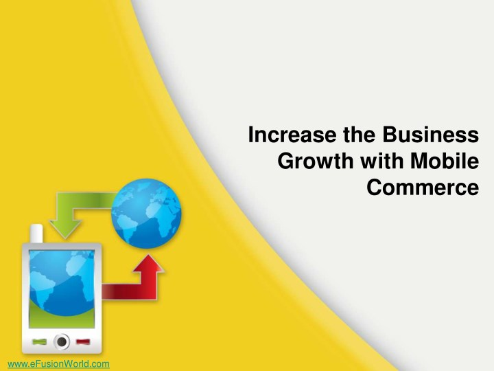 increase the business growth with mobile commerce n.