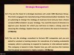 strategic management q 1 you are the head