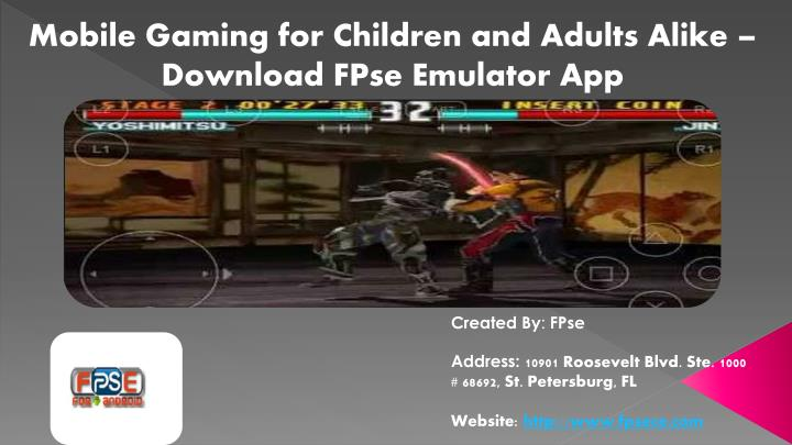 mobile gaming for children and adults alike n.