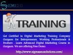 get certified in digital marketing training