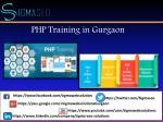 php training in gurgaon