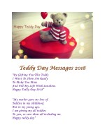teddy day messages 2018 teddy day messages 2018