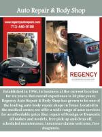 auto repair body shop