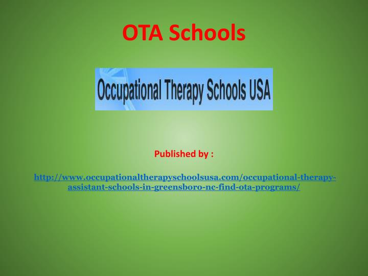 ota schools published by http n.