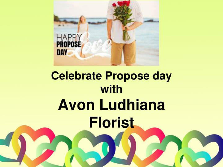 celebrate propose day with avon ludhiana florist n.