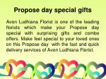 propose day special gifts