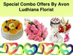special combo offers by avon ludhiana florist