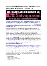 world famous indian astrologer in london ilford
