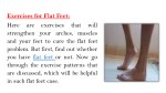 exercises for flat feet here are exercises that