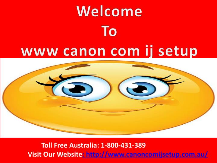 welcome to www canon com ij setup n.