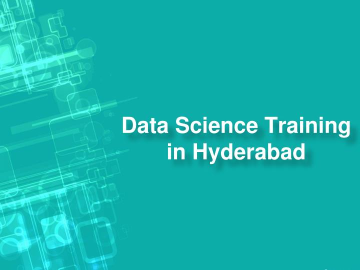data science training in hyderabad n.