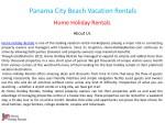 panama city beach vacation rentals 1