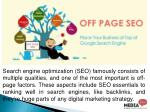 search engine optimization seo famously consists