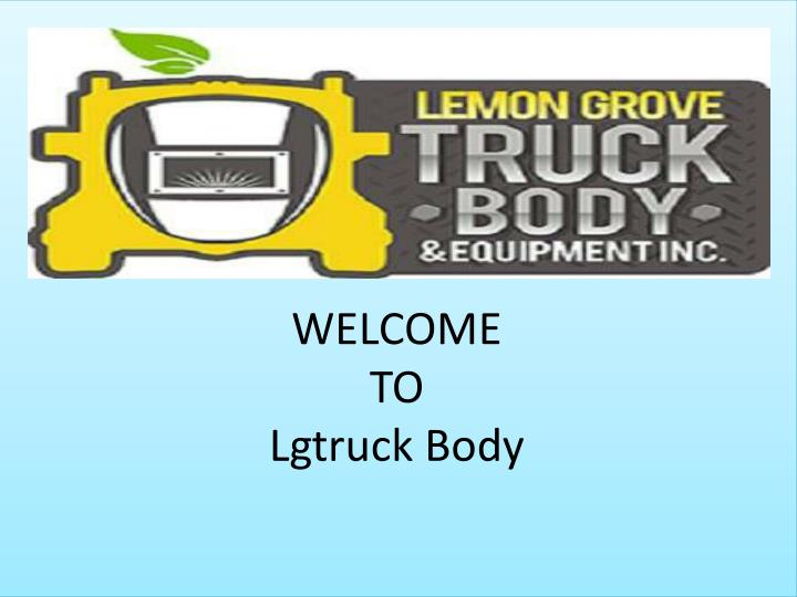 welcome to lgtruck body n.