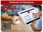 welcome to humelove