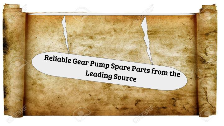 reliable gear pump spare parts from the leading n.