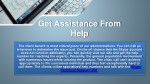 get assistance from help