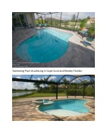 swimming pool resurfacing in cape coral
