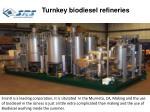 turnkey biodiesel refineries