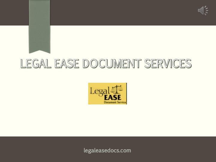 legal ease document services n.