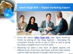 satvir singh birk digital marketing expert