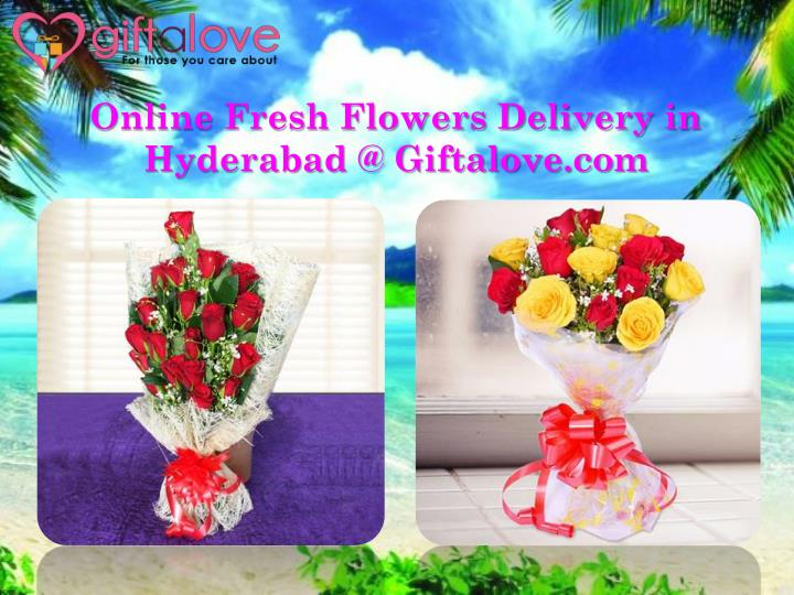 online fresh flowers delivery in hyderabad @ giftalove com n.