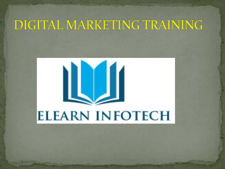 digital marketing training n.
